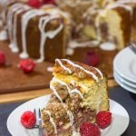 Raspberry Danish Coffee Cake