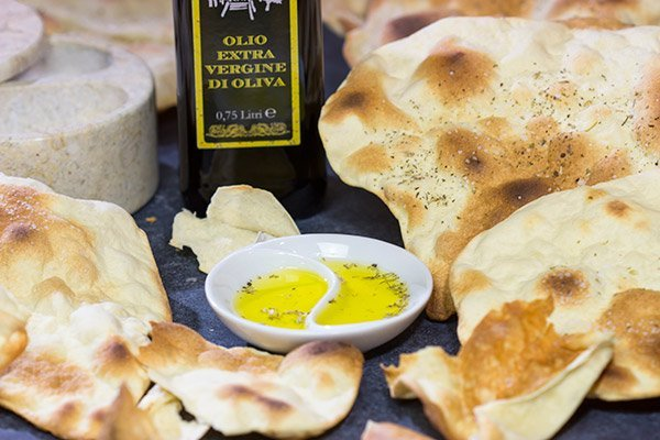 Originally from the Italian island of Sardinia, Carta di Musica are thin, crispy crackers that are quite easy to make. Add some cheese and a bottle of wine for an excellent appetizer idea!
