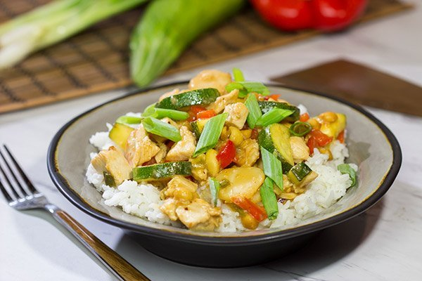 Kung Pao Chicken is a popular Chinese restaurant takeout dish for good reason. Make a batch of this tasty stir fry at home!