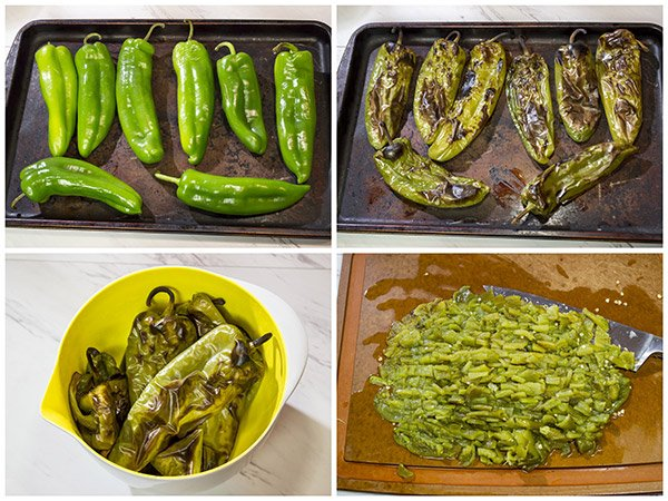 Roasted New Mexico Green Chile
