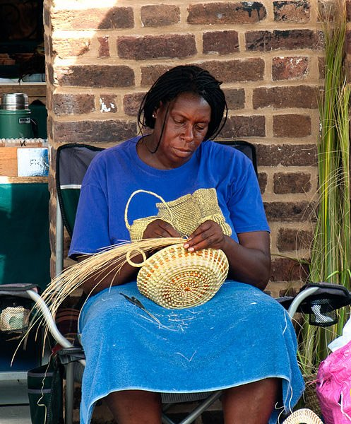 Sweetgrass Basket Weaver