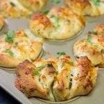 Cheesy Garlic Butterflake Rolls