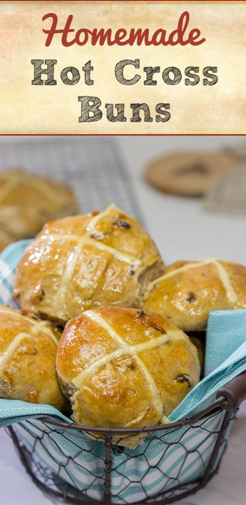 Heavily flavored with traditional baking spices, citrus zest and raisins, these Hot Cross Buns are a delicious way to start the morning!