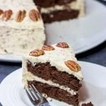 Chocolate Pecan Cake