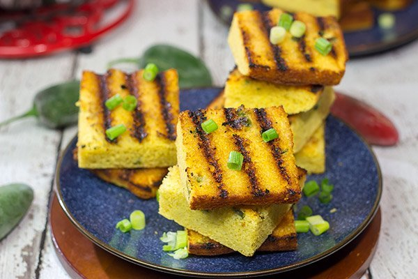 Looking for a fun summer or fall side dish? Bake up a batch of cornbread...and then finish it on the grill! This Grilled Jalapeno Cornbread is a tasty way to put a twist on the classic!