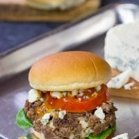 Looking for a fun spin on a classic summer meal? Grab some blue cheese and buffalo sauce and grill up a batch of these Buffalo Blue Cheese Burgers!