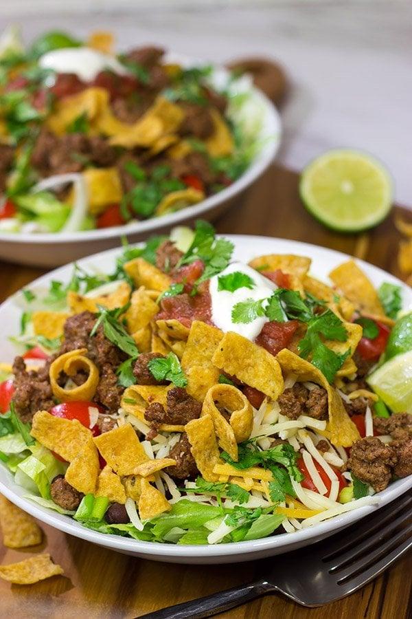 Ground Beef Taco Salad
