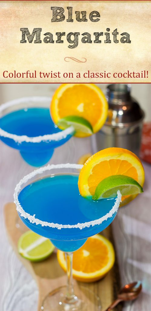 Looking for a fun twist on a classic cocktail? Pull out a bottle of blue curacao and whip up this Blue Margarita!