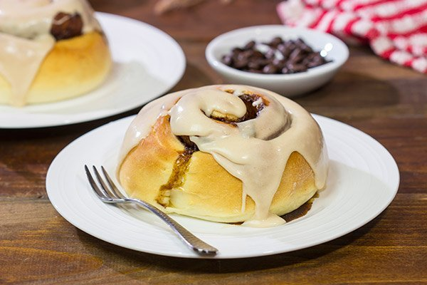 Complete with a cinnamon-coffee filling and a cappuccino glaze, these Cappuccino Cinnamon Rolls are a great way to start the day!