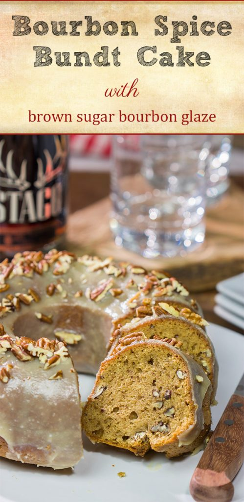 Open up a bottle of bourbon...and bake a cake! This Bourbon Spice Bundt Cake is packed with warming baking spices. It's a delicious way to celebrate the arrival of cooler temperatures!