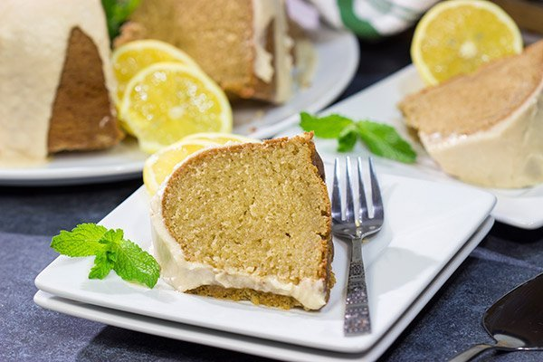 Infused with the flavor of brewed tea, this Sweet Tea Pound Cake is a unique and tasty dessert for hot summer days!
