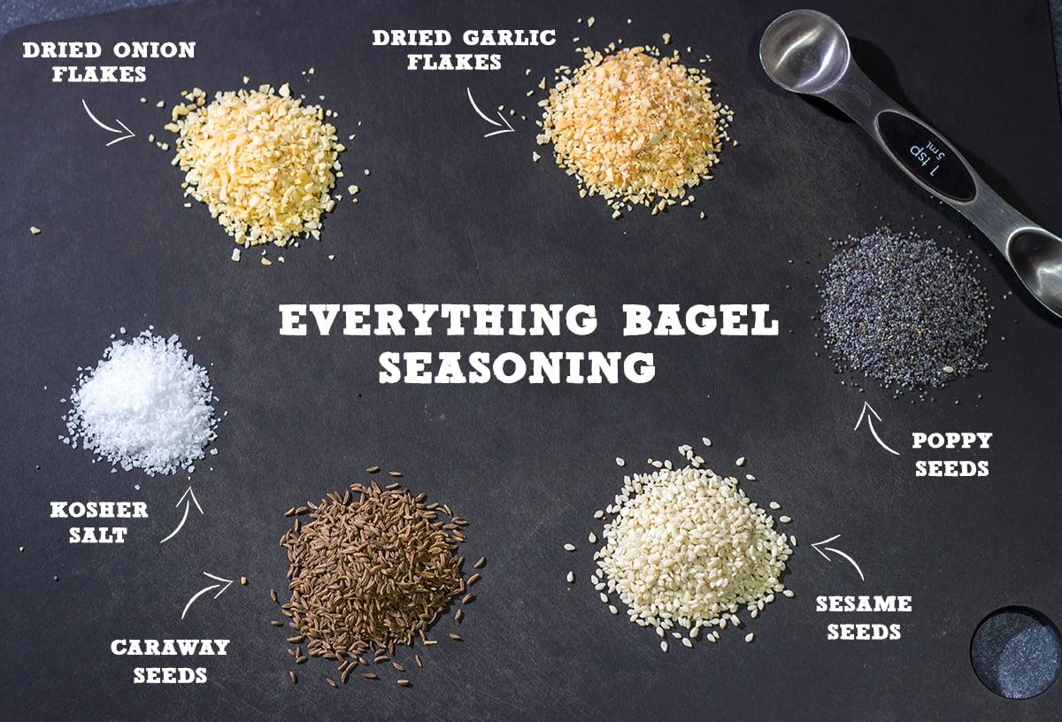 Homemade everything bagel seasoning