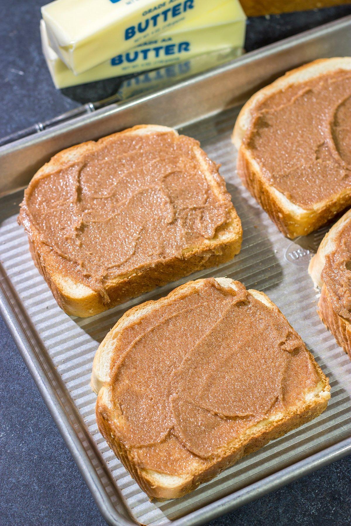Homemade Cinnamon Toast