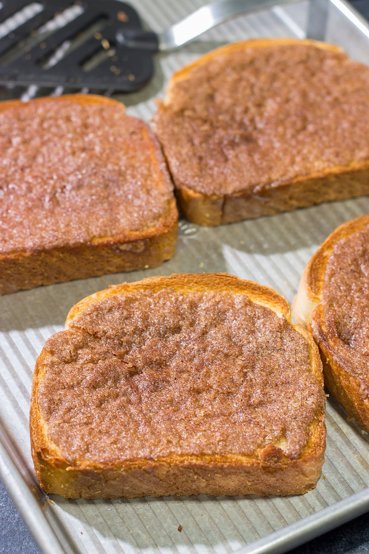 If you're looking for the ultimate start to the day, turn on the oven and make a batch of this Homemade Cinnamon Toast!