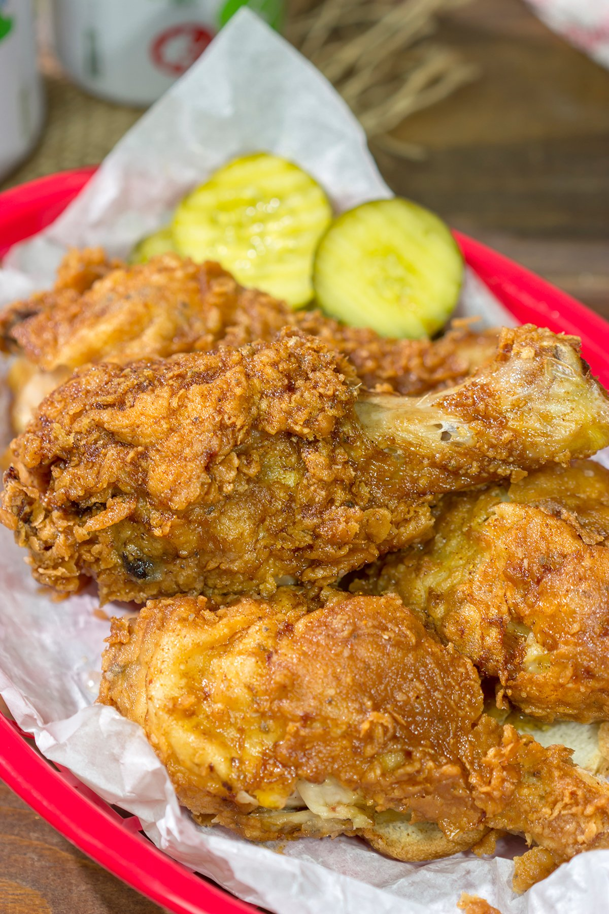 Nashville Hot Chicken is a mainstay menu item in the Music City. Think delicious Southern fried chicken...with a spicy kick!